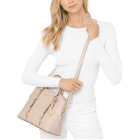 Michael Kors Leather Bedford Legacy Dome Satchel