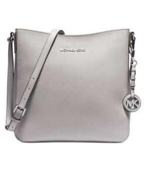 Michael Kors Jet Set Travel Large Saffiano Leather Messenger Bag