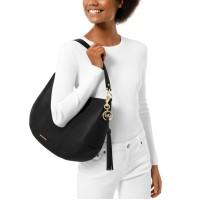 Michael Kors Brooke Large Zip Leather Hobo