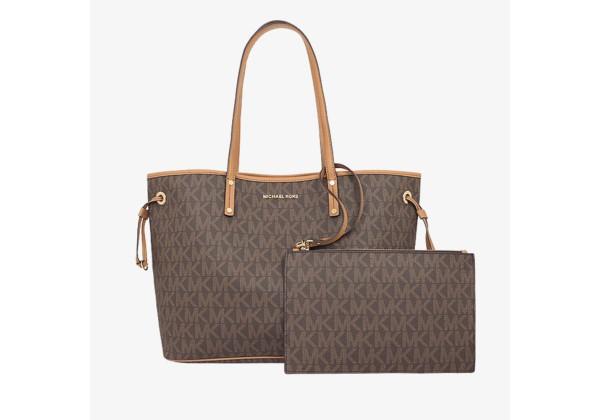 Большая сумка Michael Kors Jet Set Travel - Brown