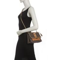 Michael Kors Cece Medium Studded Logo Leather Convertible Shoulder Bag
