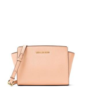 Michael Kors Сумка Розовая Selma Medium 30T3GLMM2L Pale Pink Crossbody