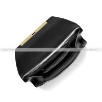 Сумка — Клатч Michael Kors Женская Черная Кожаная 30F9G08C7L Black