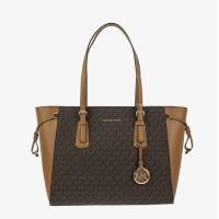 Большая сумка Michael Kors Voyager Medium - Brown/Acorn