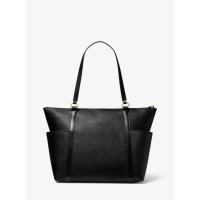 Michael Kors Nomad Large Saffiano Leather Top-Zip Tote Bag