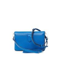 Сумка Michael Kors Leather Wallet Crossbody Bag синяя