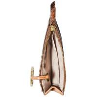 Michael Kors Jet Set Charm Slim Leather Card Case светло-коричневый