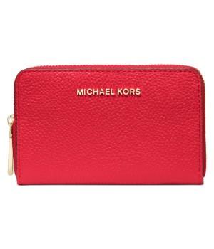 Michael Kors Jet Set Leather Zip-Around Card Case