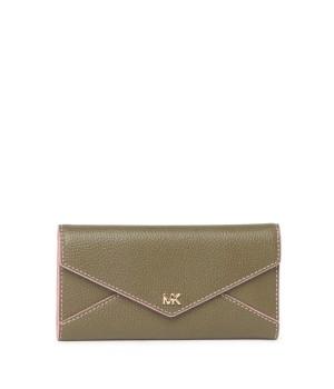 Michael Kors Slim Leather Trifold Envelope Wallet