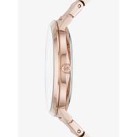 Michael Kors Jaryn Rainbow Pavé Rose Gold-Tone Watch