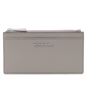 Michael Kors Pebble Leather Slim Card Case
