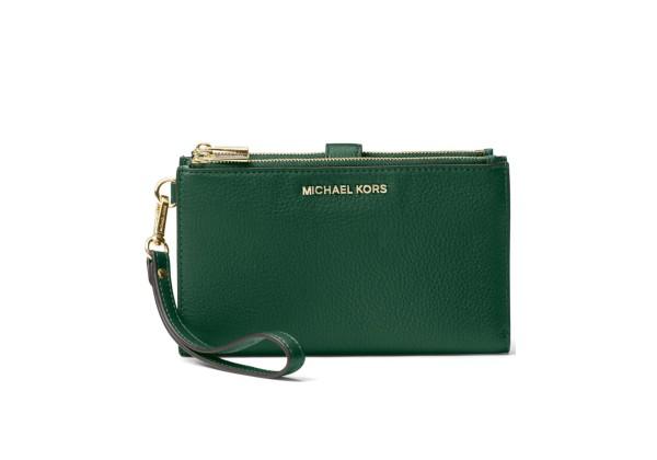 Michael Kors Adele Leather Phone Wallet Wristlet