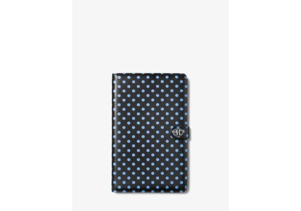 Michael Kors Monogramme Polka Dot Leather Notebook